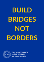 Build bridges not borders - poster - EU EEA