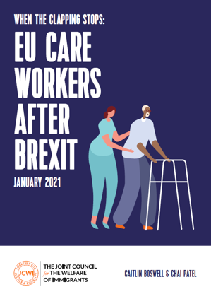 When the clapping stops - EU Care Workers after Brexit