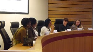 Panel, Bumi Thomas, Tracy - Survivors Speak Out, Paige Ballmi, Nesrine Malik, Katia Widlak
