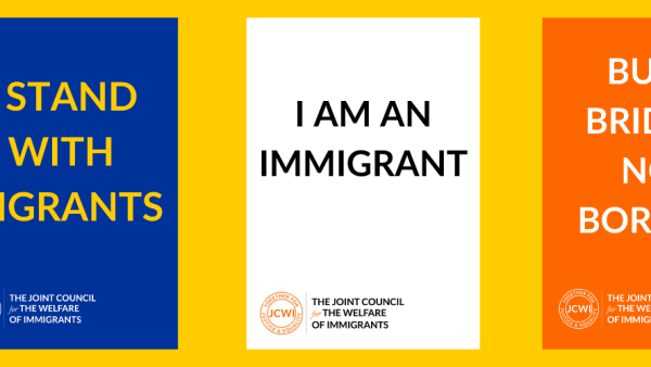 Download a poster to support migrants rights