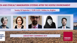 Fabian Society event September 2019