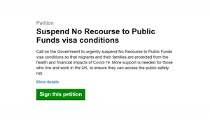 Myth busting the government's arguments for the 'No Recourse to Public Funds' visa rule